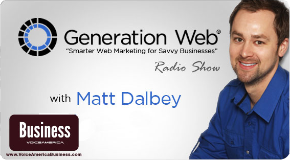 Tune in to the all new Generation Web® radio show